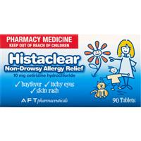 Histaclear 10mg 90 Tablets